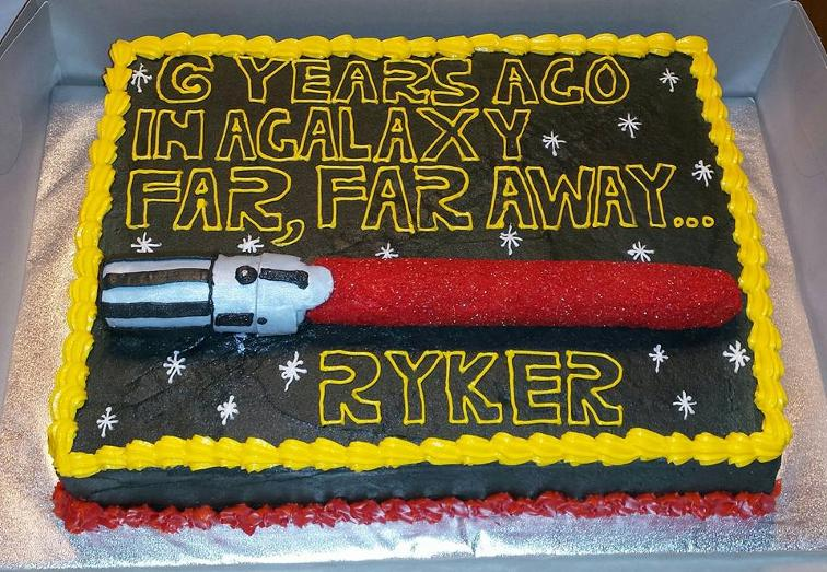 Star Wars Sheet Cake Images Prezup for